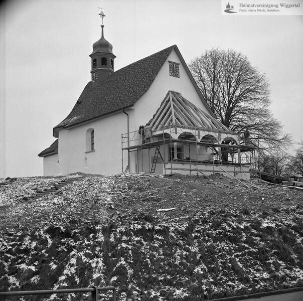 #110310 | Kapelle St. Andreas; Wiederherstellung des Vorzeichens; fja