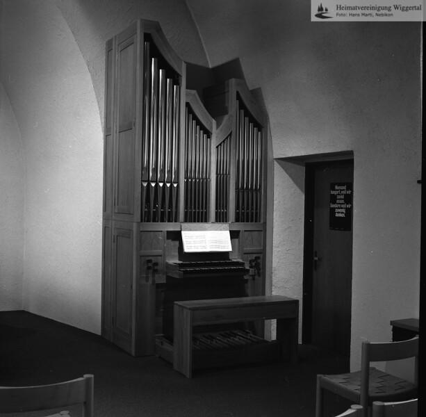 Orgel ref.Kirche 1986 Dagmersellen