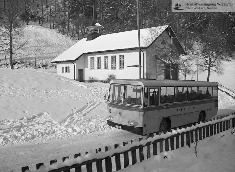 Wiggertal 1984/ Unterberg Hergiswil Febr. 1985