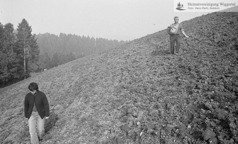Wiggertal 1984/ Rölli, Schwarzhubel Okt. 1984