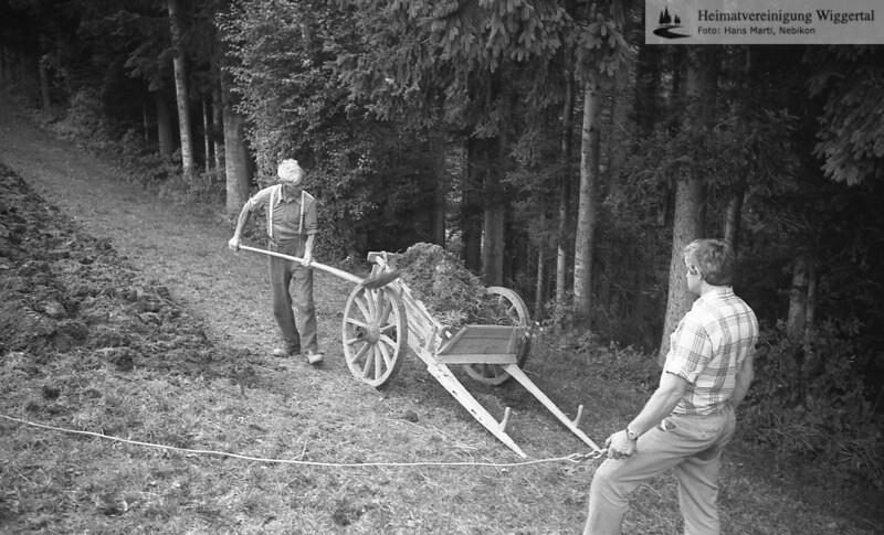 Wiggertal 1984/ Rölli, Schwarzhubel Hergiswil Herbst 1984