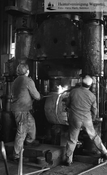 Wiggertal 1984/ Dubach Schmiede Juni 1985