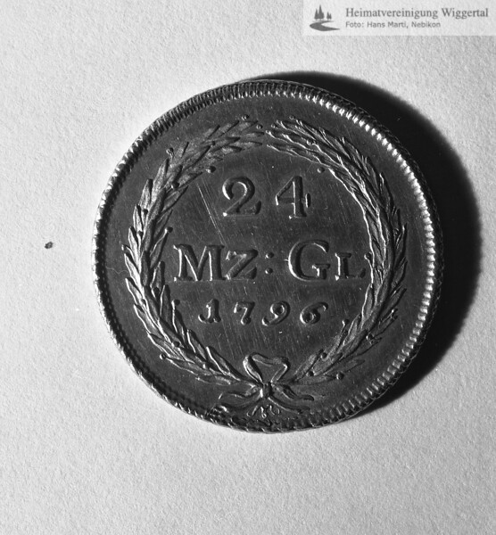 Wiggertal 1984/ Münzen Napfgold Sta. Luzern