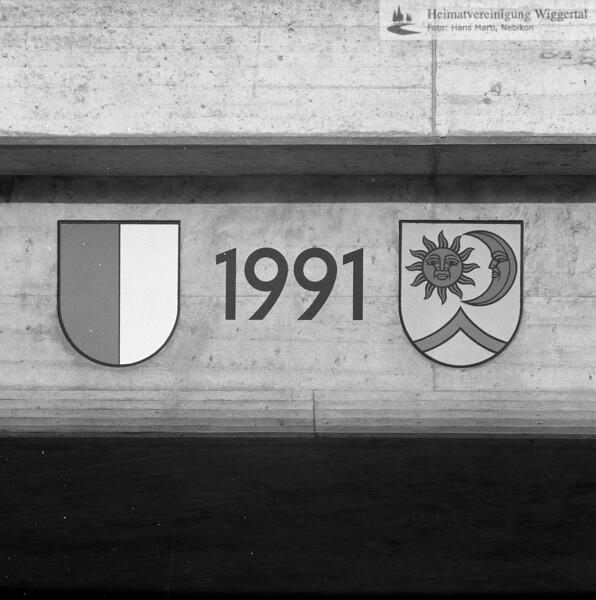 #130102 | Unterführung Egolzwilerstrasse; 1991; fja