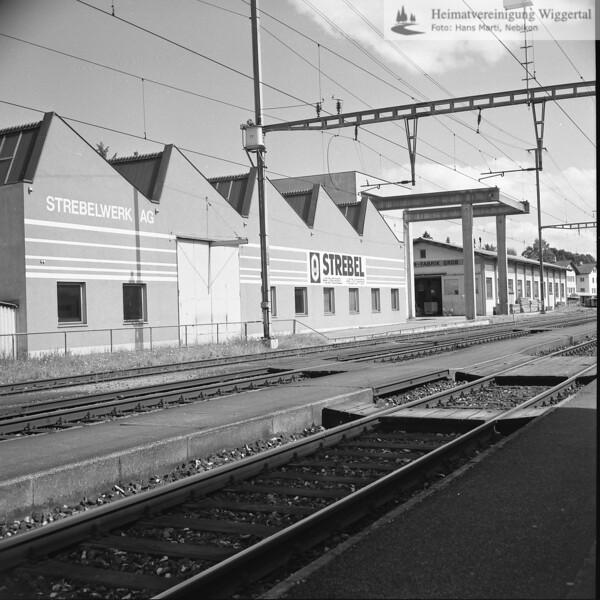 #130109 | Strebelwerk AG; Hintergrund rechts; Der ehemalige Standort der Zahnradfabrik (Hans) Grob AG; niks; fja