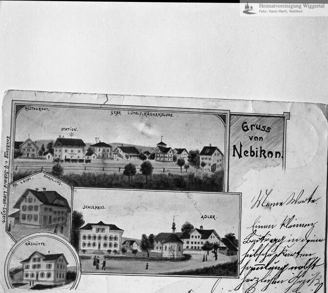 #130111 | Postkarte; Reprofoto; wann?; fja