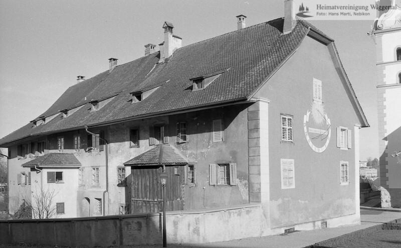 #140123 | Chorherrenhäuser im Stift Beromünster; jst