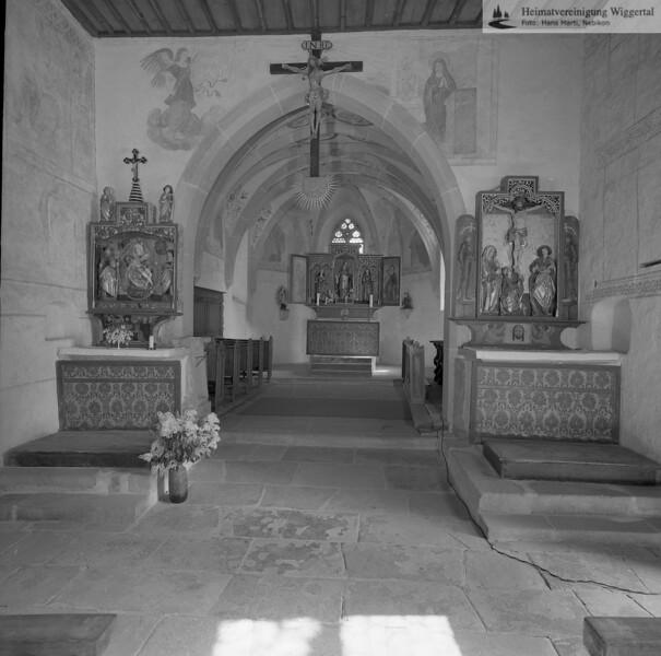 #140182 | Kirchbühl; Altarraum; fja