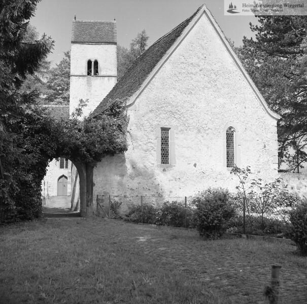 #140184 | Kirchbühl; Beinhaus mit Durchgang; fja