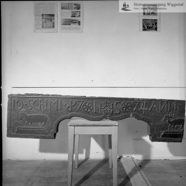 Museum Burgrain 22.5.73 / Richental