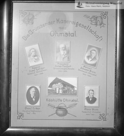 #150090 | Die Gründer der Käsereigesellschaft Ohmstal; 1860; fja