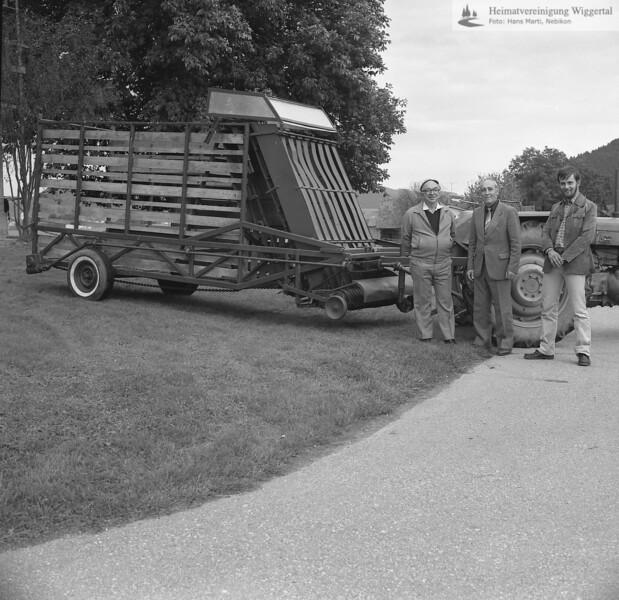 #150192 | Burgrain; Museum; Ladewagen . . ; . . ; Xaver Rüttimann, Ing.agr.ETH, Willisau; . . ; fja