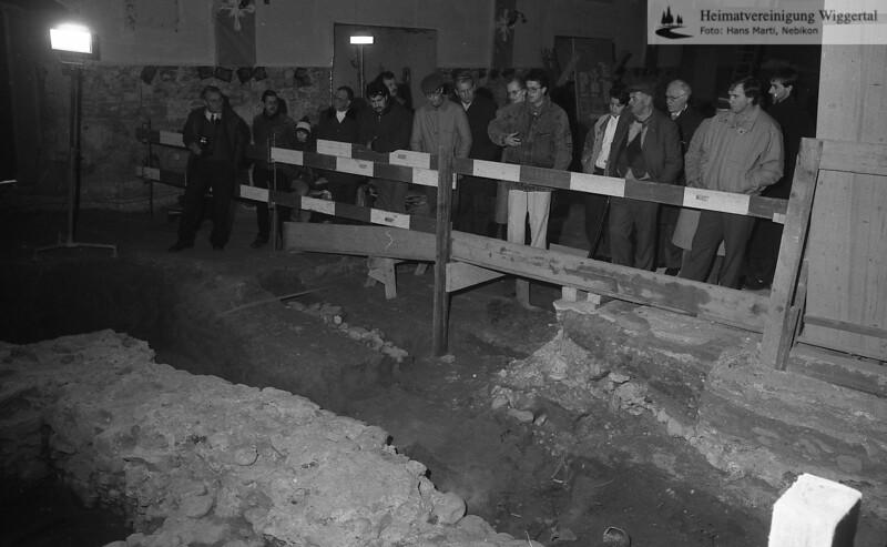 Ausgrabung 1989