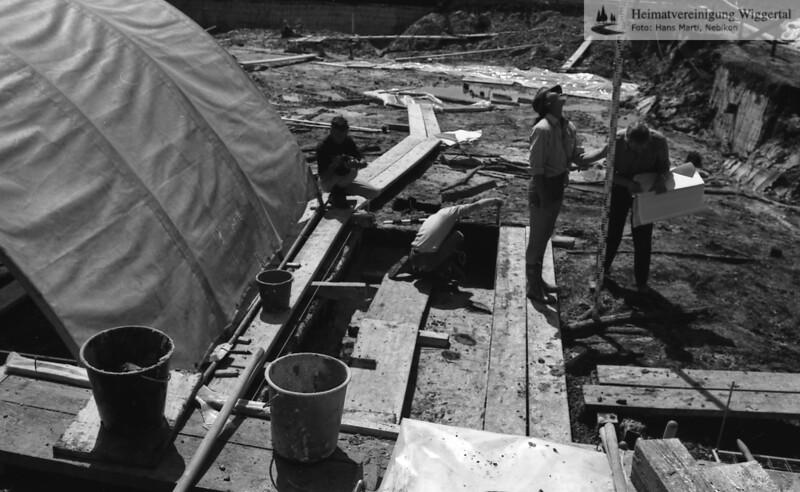 Egolzwil Anfang Juni 1985