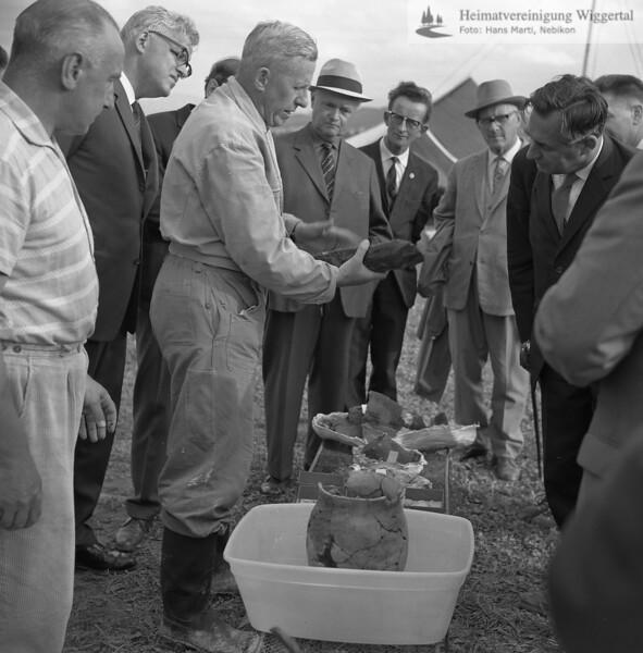 Egolzwil Ausgrabung 1964