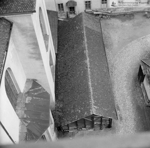 #160682 | Kohleschuppen im Nordhof der Konventsgebäude (abgebrochen 1969; erru; s.160674, 160678, 160681