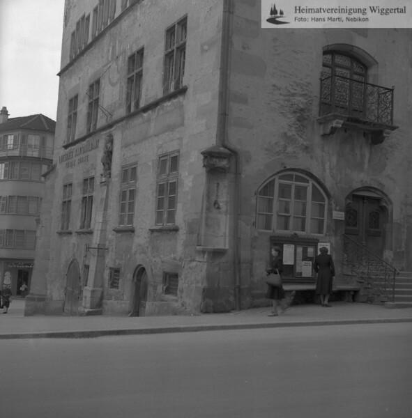 #170137 | Rathaus; vor der Restauration; fja
