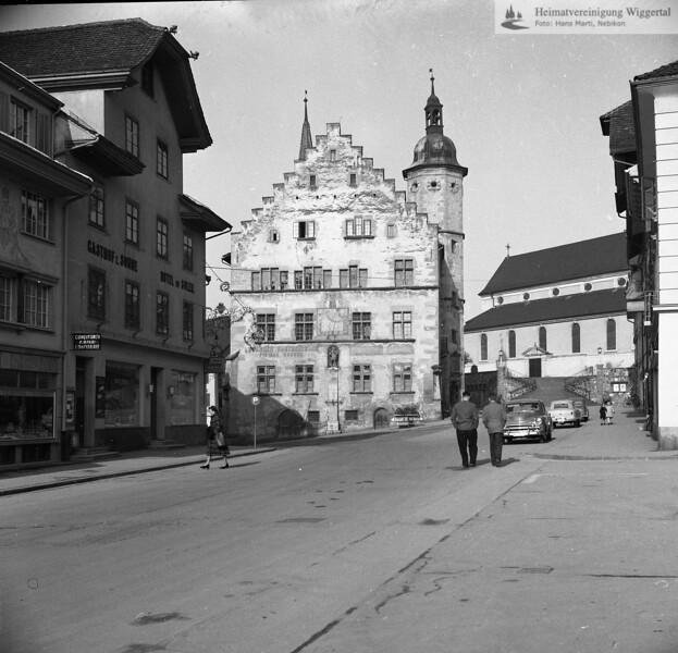 #170138 | Rathaus vor der Restauration; PBA; fja