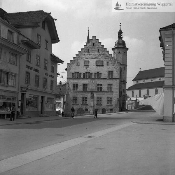 #170135 | Rathaus vor der Restauration; PBA; fja