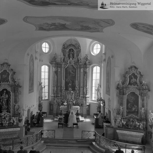 #170350 | Trauung in der Kirche St. Jakobus in Feusisberg (SZ). (Einfach Link anklicken und vergleichen) https://de.wikipedia.org/wiki/St._Jakobus_(Feusisberg); amei