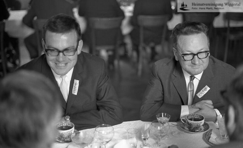 Nebikon Männerchor Fahnenweihe 1968