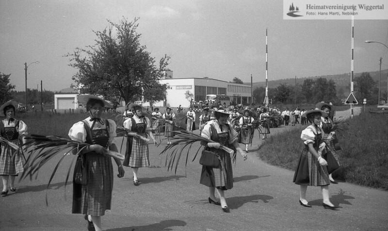 Trachtenumzug Sursee, Eglzwil,Wauwil 1967