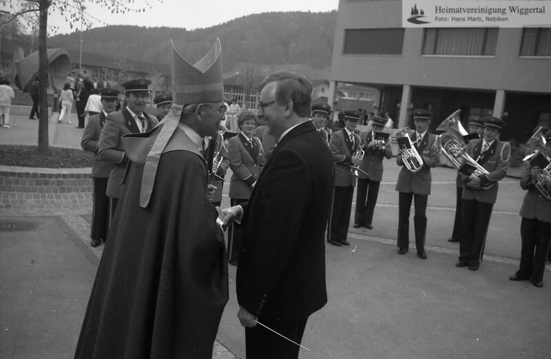 #170679 | Feldmusik Nebikon, Josef Keist, Dirigent; Bischof?; hebi