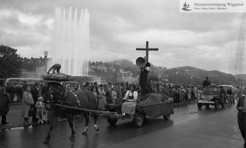 Nebikon kant. Trachtentage Sept.1957