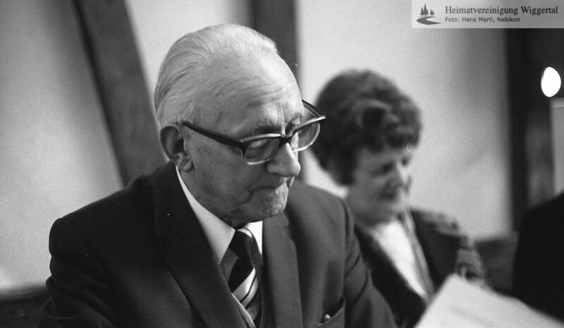 Kaspar Meyer 75 jährig