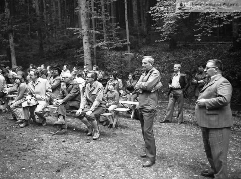 Nebikon,Einweihung Waldpfad Mai 1977