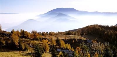 PF-600 - Morgenstimmung vor der Steiner Alpe