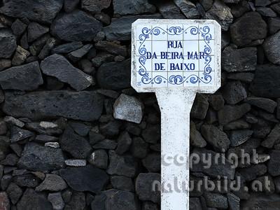 Typische Art, Porzellankacheln, Insel Sao Miguel, Azoren, Portugal,