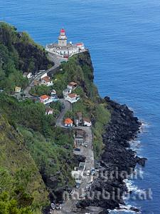Leuchtturm im Osten, Gemeinde Nordeste, Insel Sao Miguel, Azoren, Portugal,