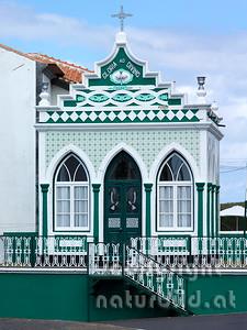 Tempel des Heiligen Geistes, Altares, Insel Terceira, Azoren, Portugal,