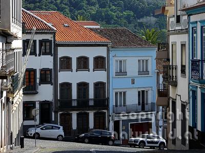 Altstadt, nähe Zentrum, Angra do Heroismo, Insel Terceira, Azoren, Portugal,