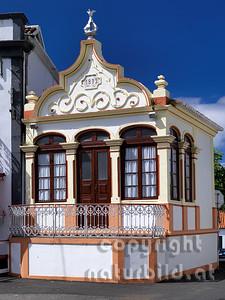 Tempel des Heiligen Geistes, Biscoitos, Insel Terceira, Azoren, Portugal,