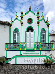 Tempel des Heiligen Geistes, Serreta, Insel Terceira, Azoren, Portugal,