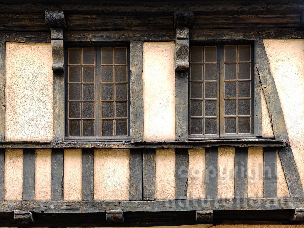 16B-02-07 - Lannion - Fachwerk Fassade