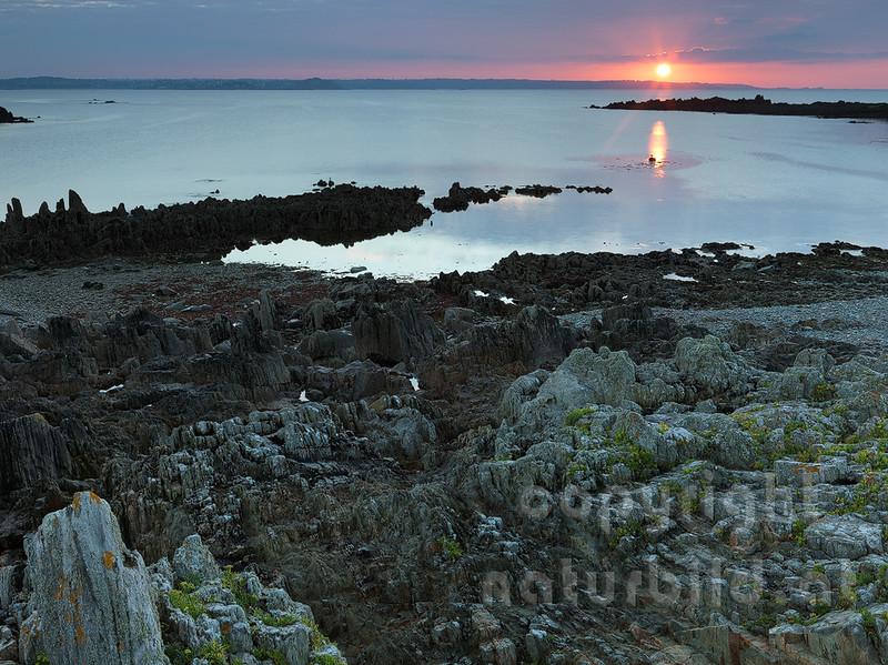 16B-02-77 - Sonnenuntergang bei Locquemeau
