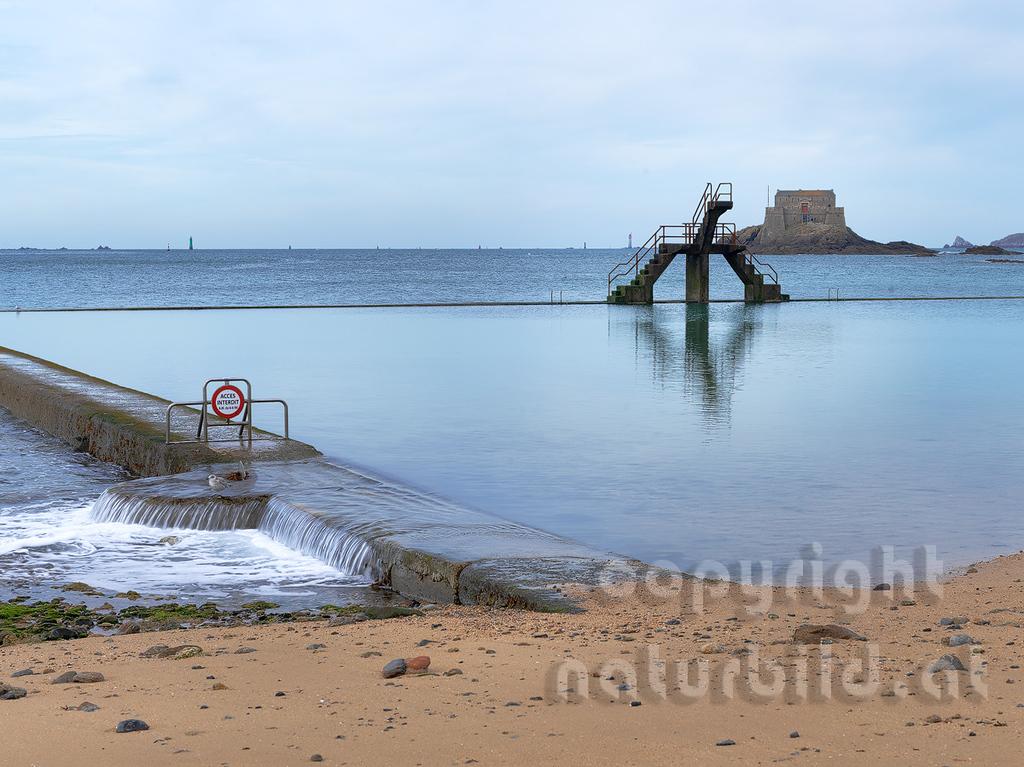 16B-01-61 - Saint-Malo Meerwasser Schwimmbecken