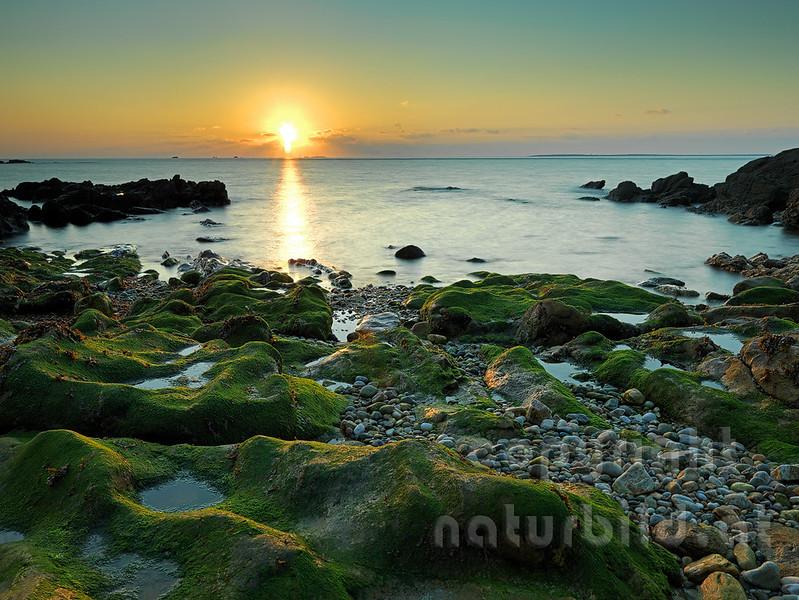 16B-03-70 - Sonnenuntergang vor Kermorvan