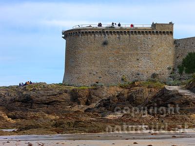 16B-01-72 - Wehrturm an der Stadtmauer von Saint-Malo