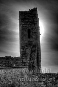 10-17-88 - Corcomroe Abbey im Gegenlicht