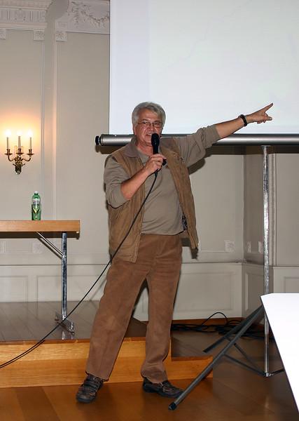 Vorstandsmitglied Urs Siegrist, Konservator Naturhistorische Abteilung, Museum Zofingen, beweist und begründet, dass die Wigger 1415 im Bernbiet mündete.