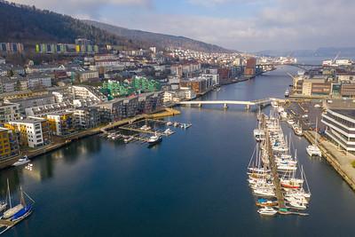 Dronebilder Bergen