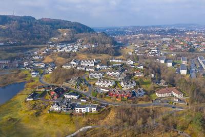 Dronebilder Bergen, Kirkebirkeland
