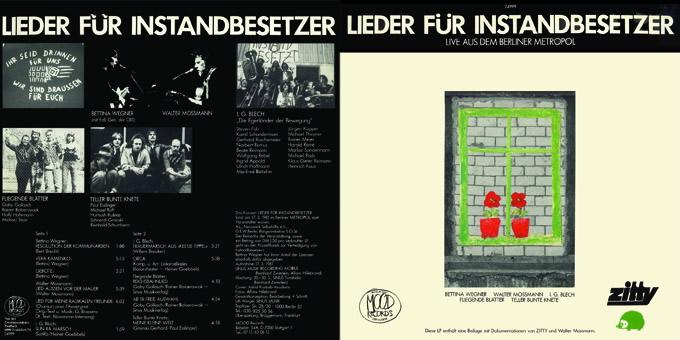 """LP """"Lieder für Instandbesetzer"""""""