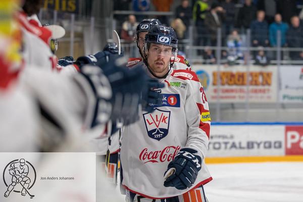1. semifinale: Sparta-Lillehammer, 16.3.18
