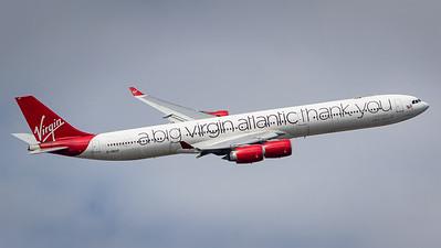 Virgin Atlantic / Airbus A340-600 / G-VNAP