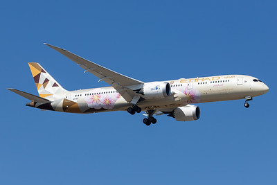 Etihad Airways / Boeing 787-9 / A6-BLK / Choose Japan